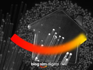 Internet 100% fibra óptica dentro de sua casa