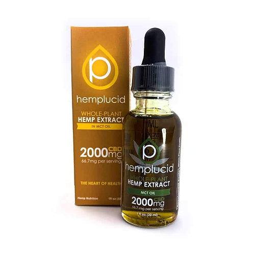 Hemplucid CBD MCT Oil