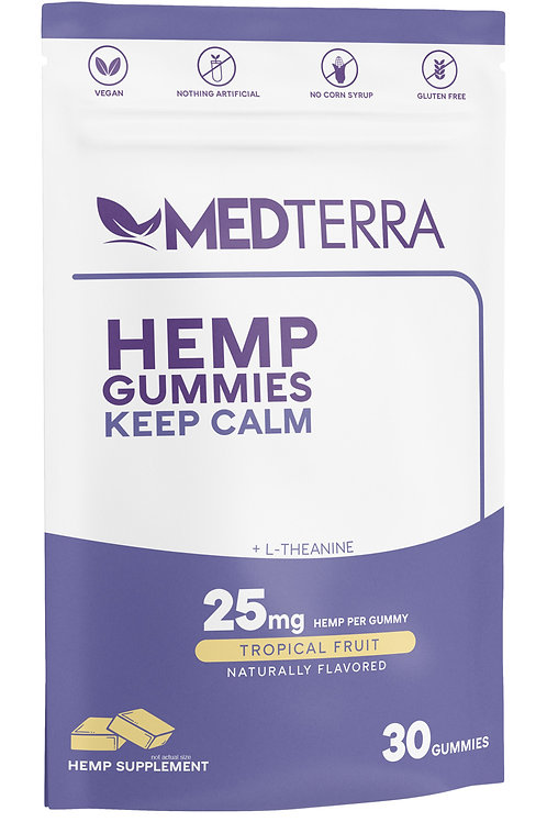 Medterra Keep Calm CBD Gummies