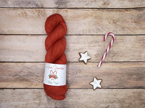 "80% Mérino 20% Soie HIGH TWIST - ""Berry Christmas"""