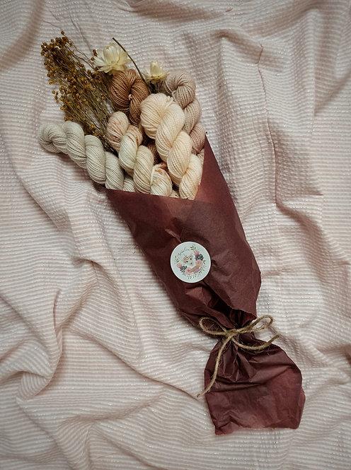 Printemps FLEURI - Bouquet de mini écheveaux