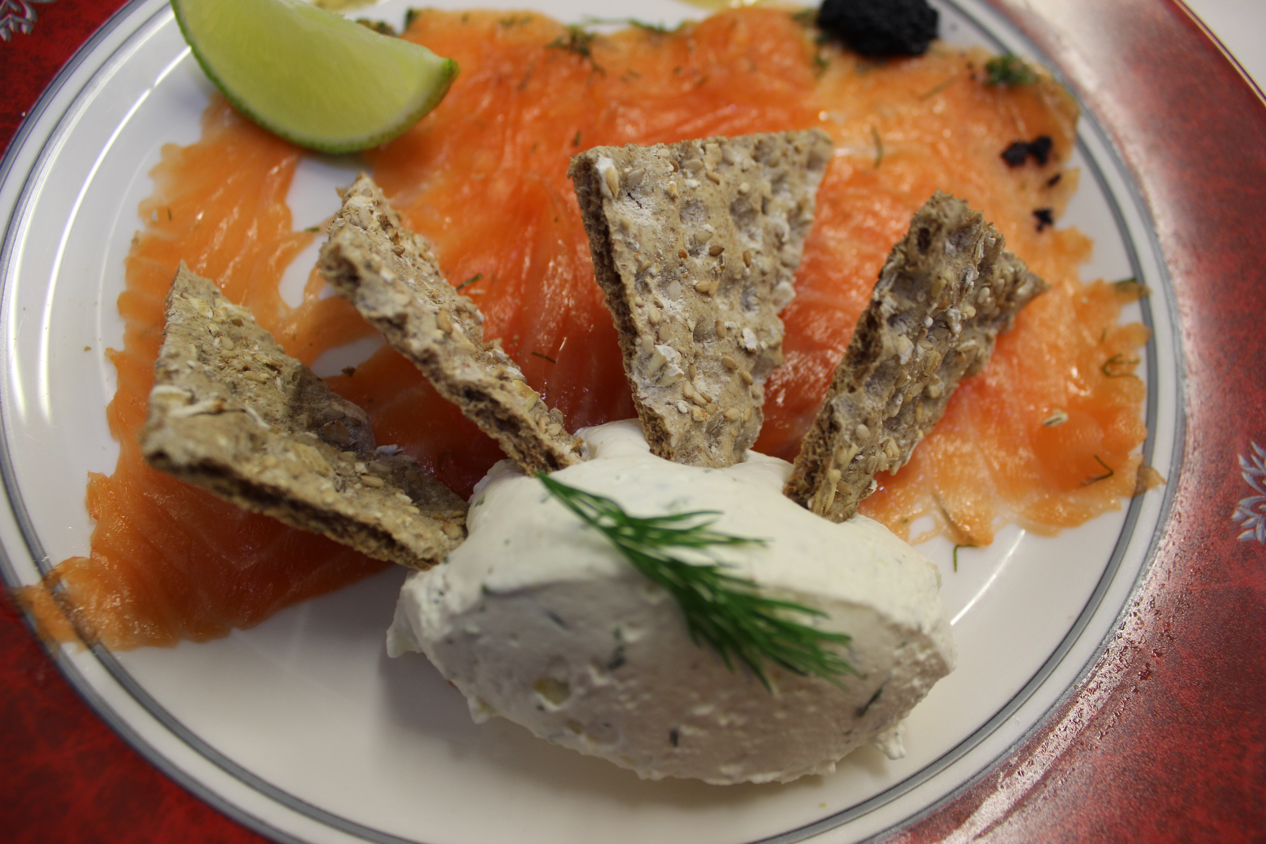 "Saumon Scottish façon ""Gravlax"""
