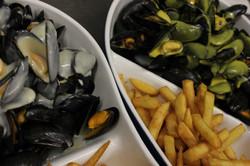 Moules marinière Frites
