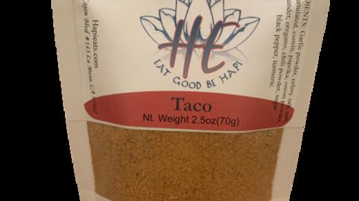 Taco (2.5oz) Beginner Cook
