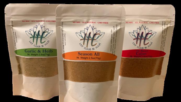 Beginner's Cook Spice Set (2.5oz)