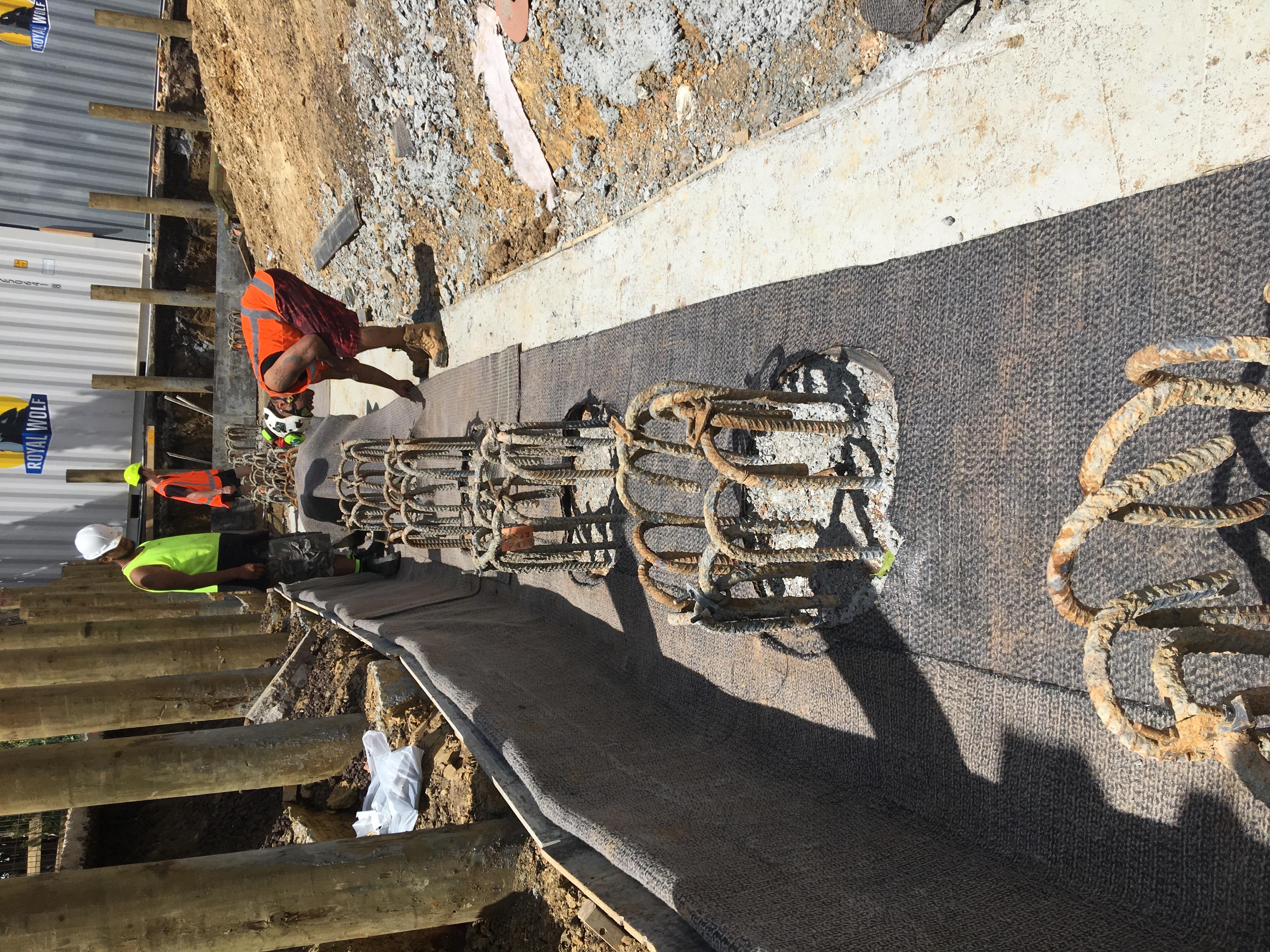 Pile Caps Underground Waterproofing