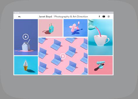 Videos on webpage