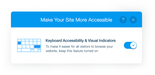 Make Your Website Accessible | Wix com