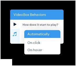 Instellingen voor gedrag van videomaskers