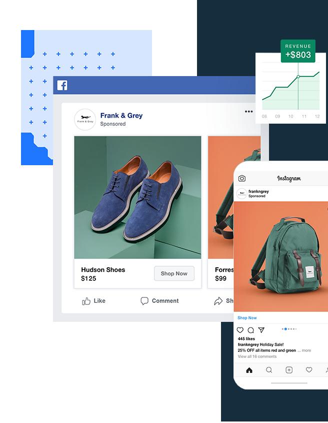 Campanha anúncios no Facebook e Instagram com Wixk dans les statistiques de campagnes publicitaires Wix