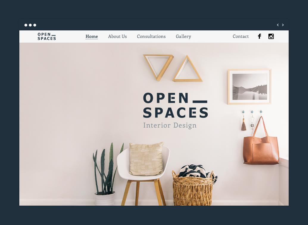 Site de design de interiores