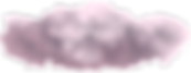 Pink and grey floating fluffy clouds