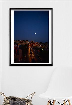 Santa Monica Moonlight