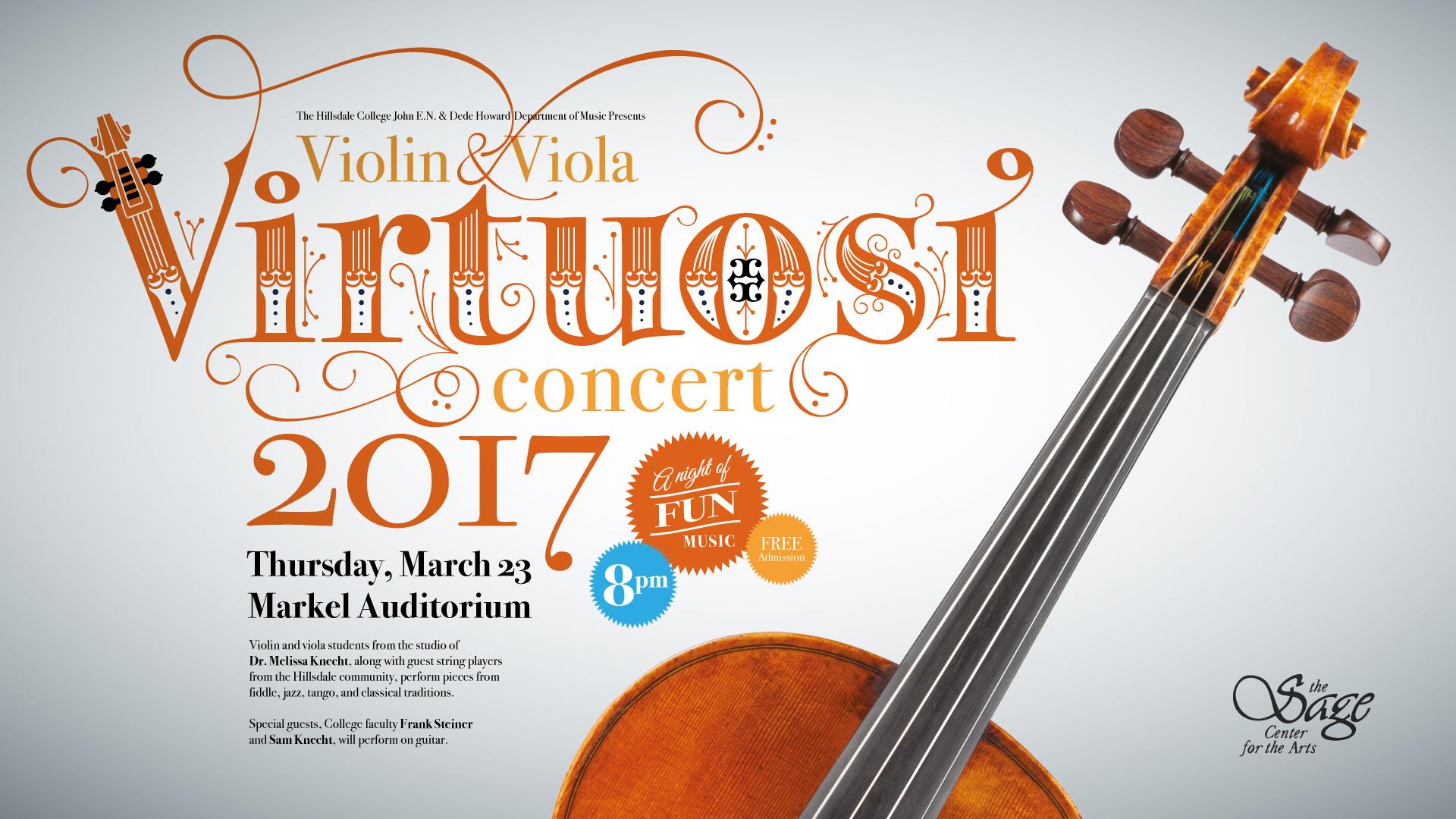 Violin Virtuosi Concert Banner