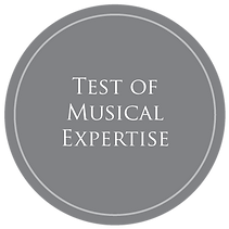 Icon depicting text: Test of Musical Expertise