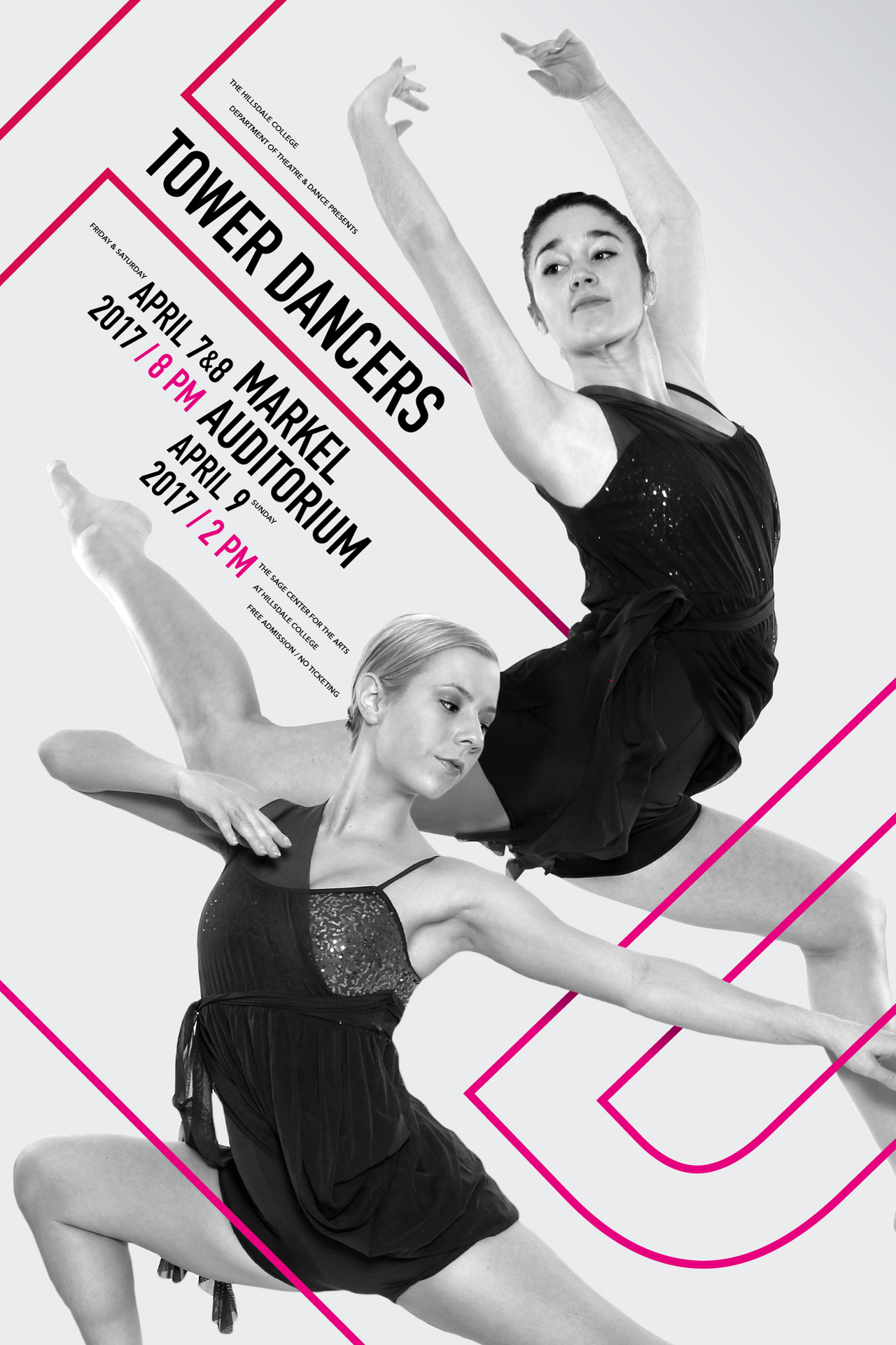 Tower Dancers Poster