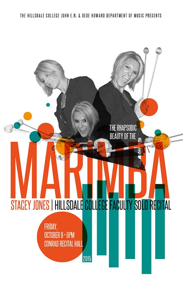 Marimba Recital Poster