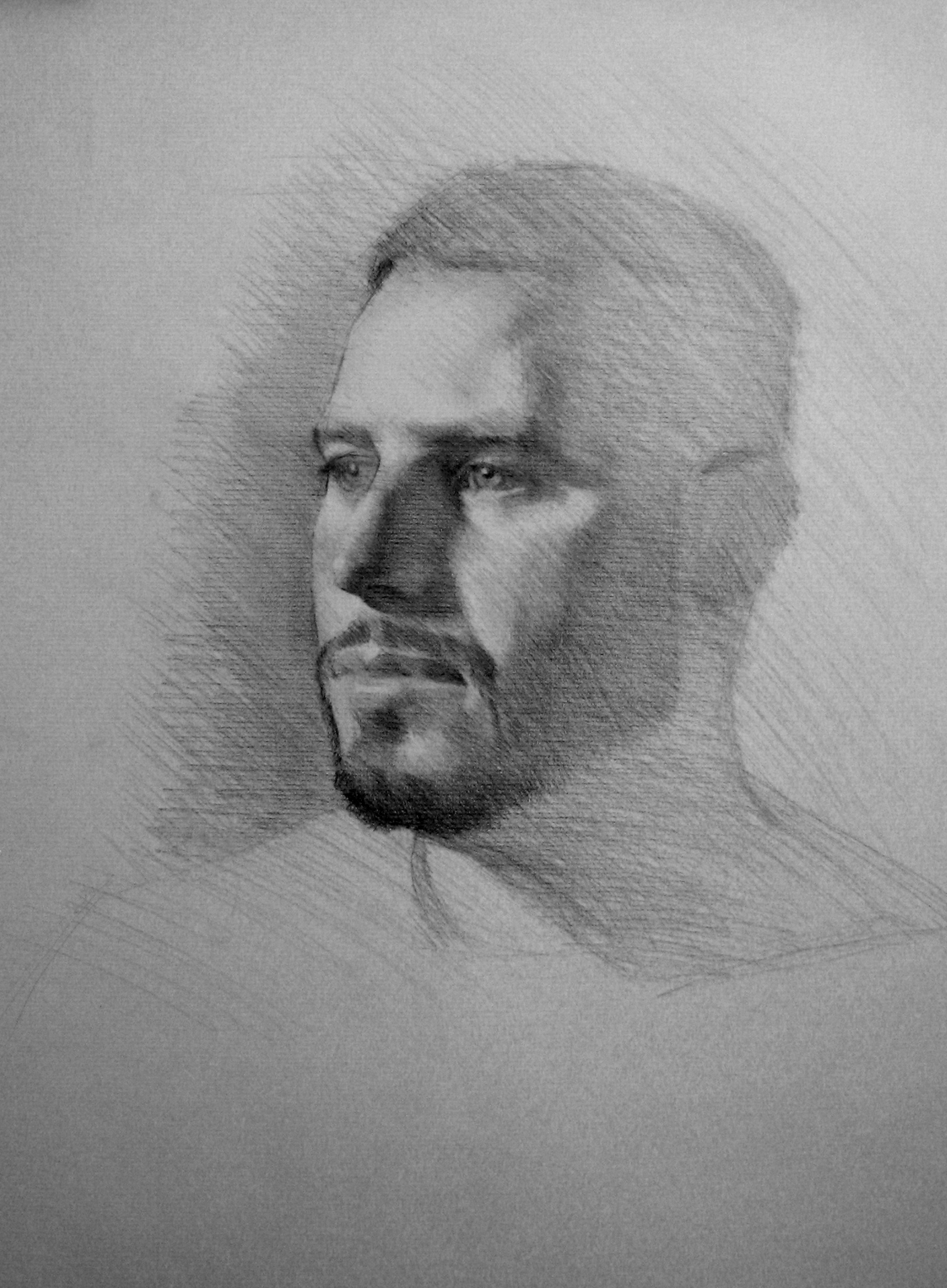 portrait sketch of a man