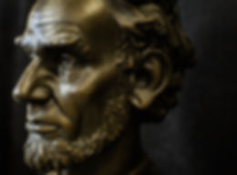 Isaac Dell, '18 - Portrait Bust of Lincoln