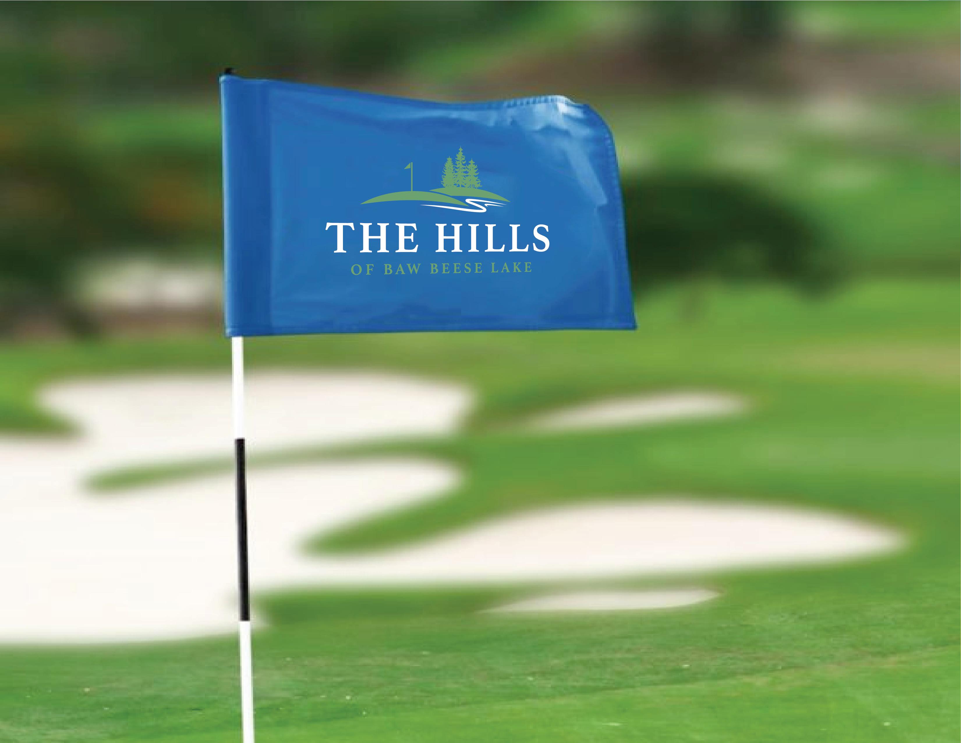 The Hills Logo Flag Concept