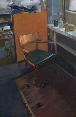 "Studio 1, 36x24"" Oil on Panel"