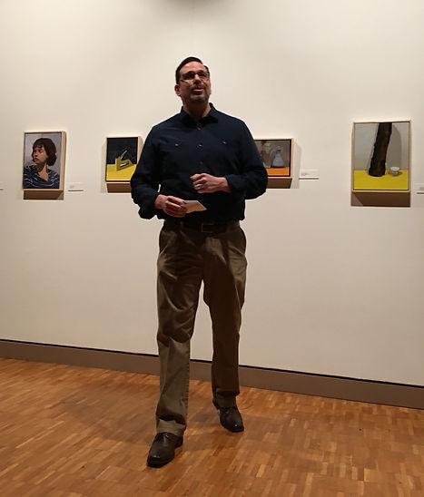 Assistant Professor of Art, Julio Suarez