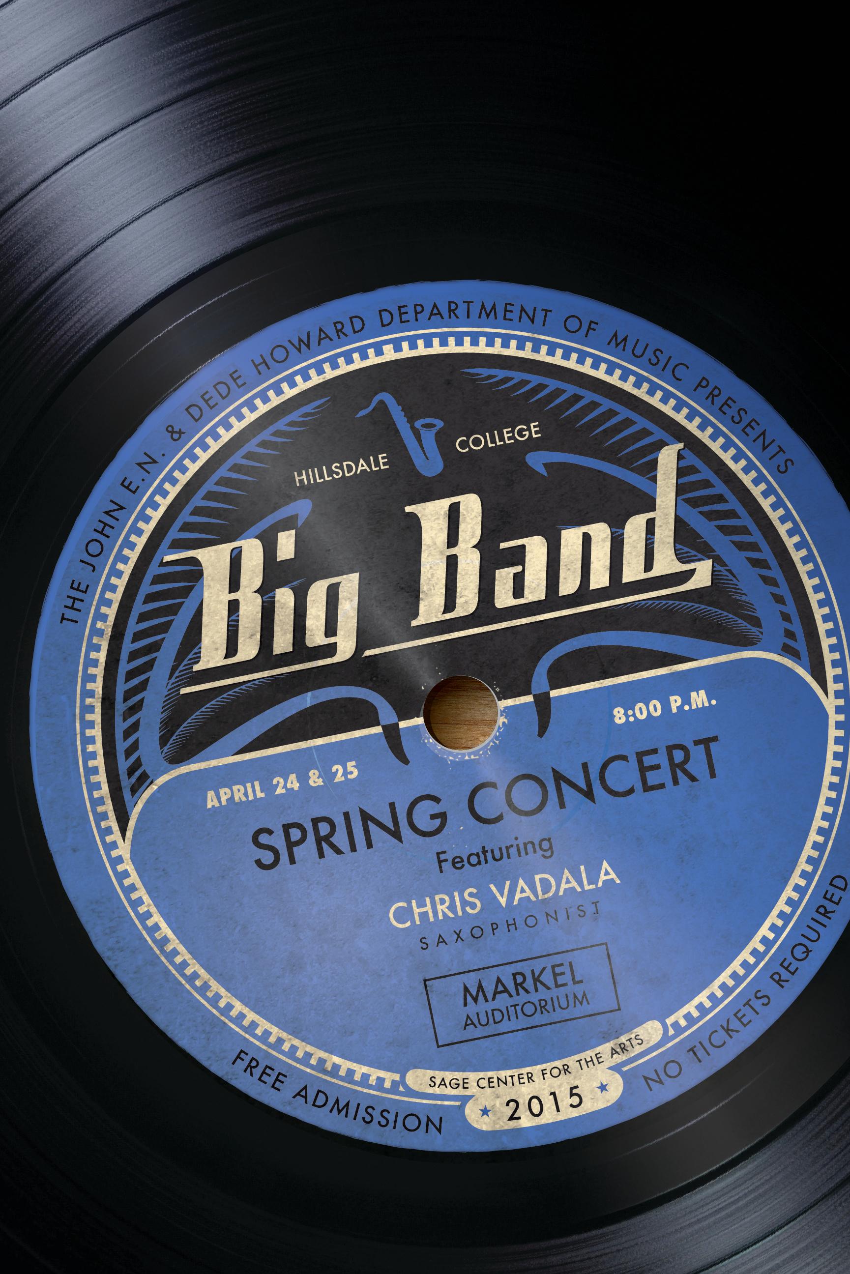 Big Band Poster 2015