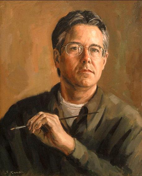 Sam Knecht, Self-Portrait