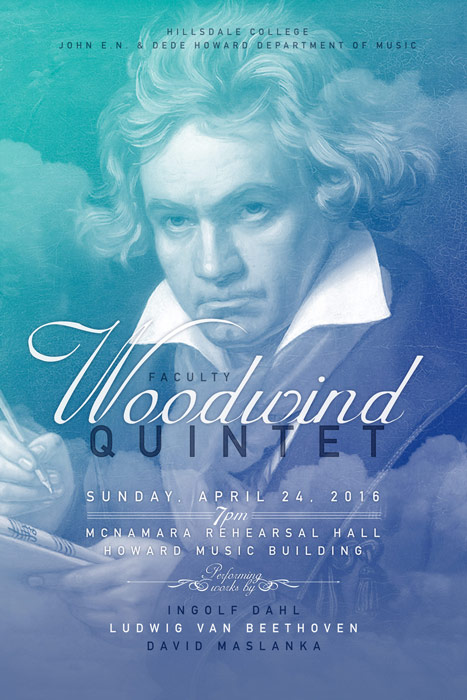 Woodwind Concert Poster 2016