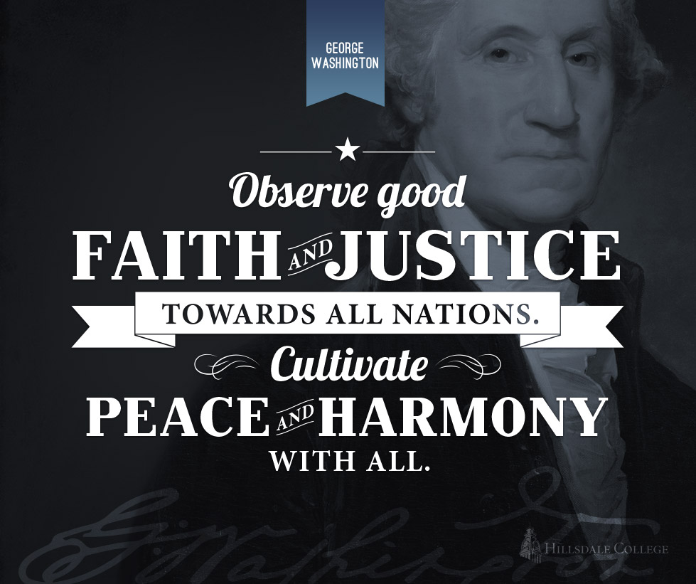 Illustrated Quotes - Washington