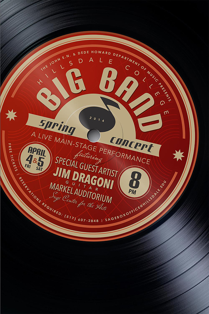 Big Band Poster 2014