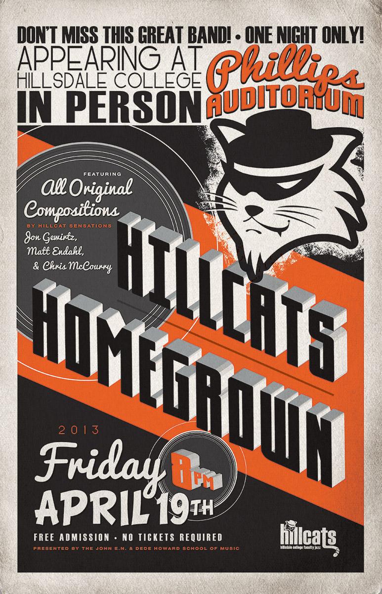 Hillcats Homegrown Poster
