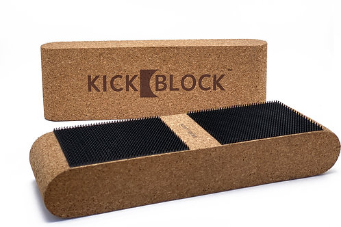 KickBlock™ - World's Best Bass Drum Stabilizer (Natural Cork)