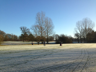 Southbucks Golf Course Thawing up!