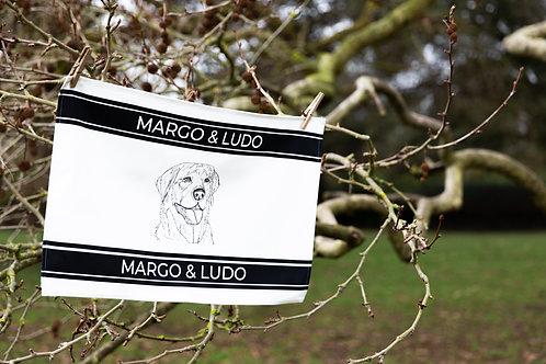 Tea Towel Striped Margo Horizontal