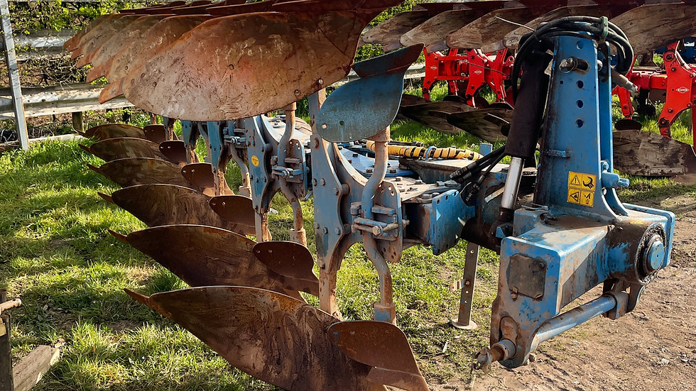 Lemken 6f plough