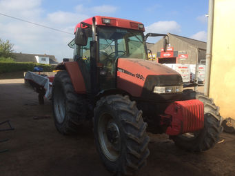 used tractors case mx 100c