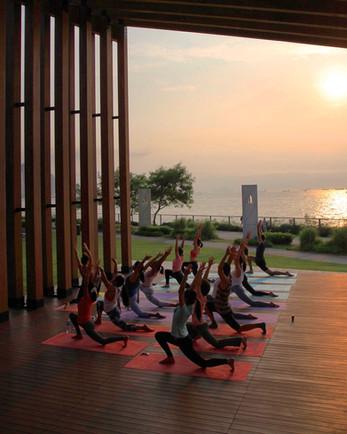 Sunset Power Yoga