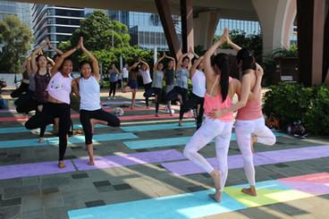 Morning Partner Yoga