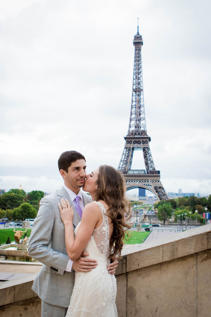 Carly and Jeff in Paris, France