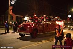 Christmas in Tecumseh Parade