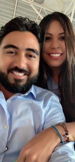 Sra. Francis Ruiz & Sr. Antonio Armas