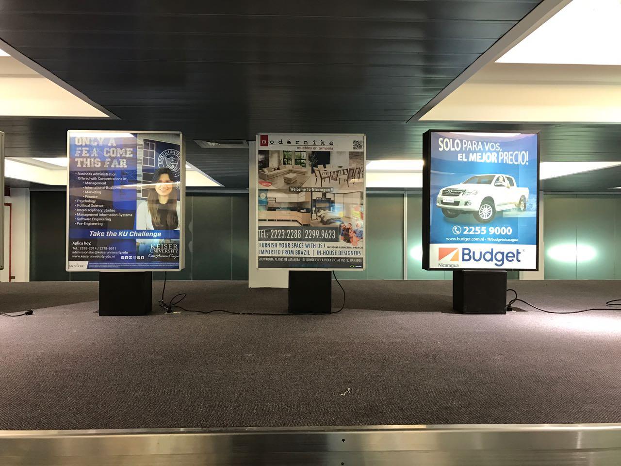 Mupi - Aeropuerto Augusto C. Sandino