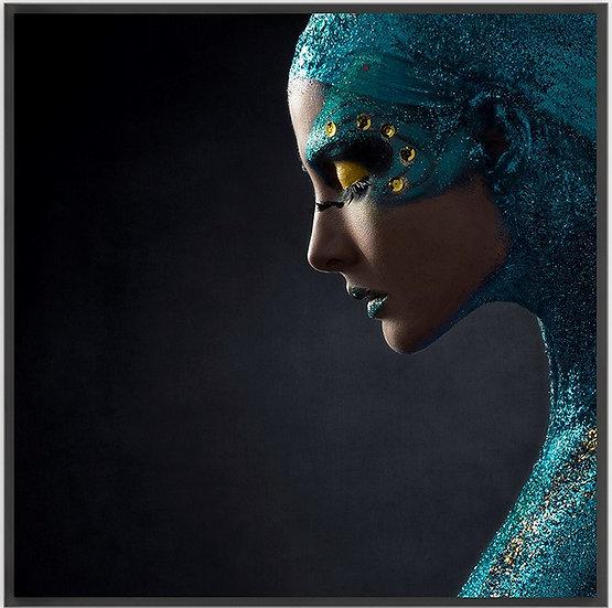 CUADRO BLUE PRINCESS - 103cm x 103cm