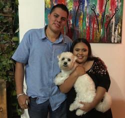 Sra. Claudia Molina & Esposo