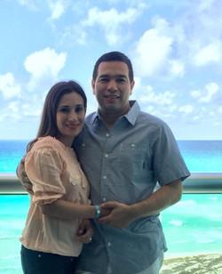 Sra. Selene Gamero & Sr.José Zeledón