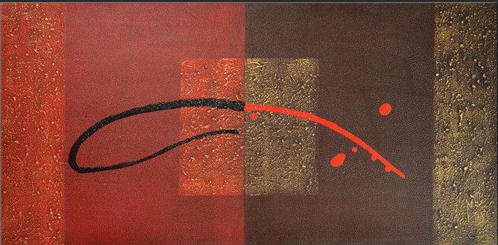 RED & BLACK - 140cm x 70cm