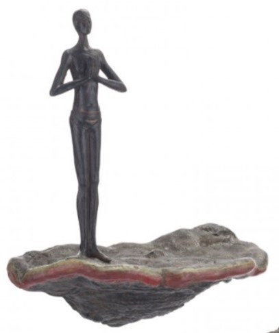 DECOR DE PARED - WAITING FIGURINE