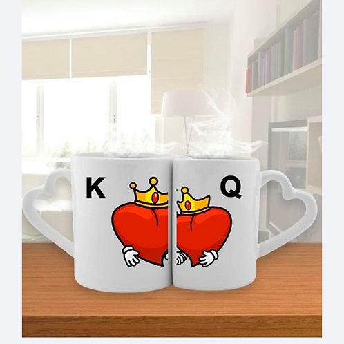 KQ çift Sevgili Kupaları