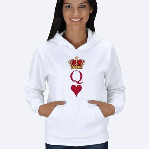 Queen Kupa Kapuşonlu